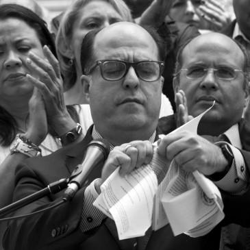 Así comenzó la rebelión en Venezuela