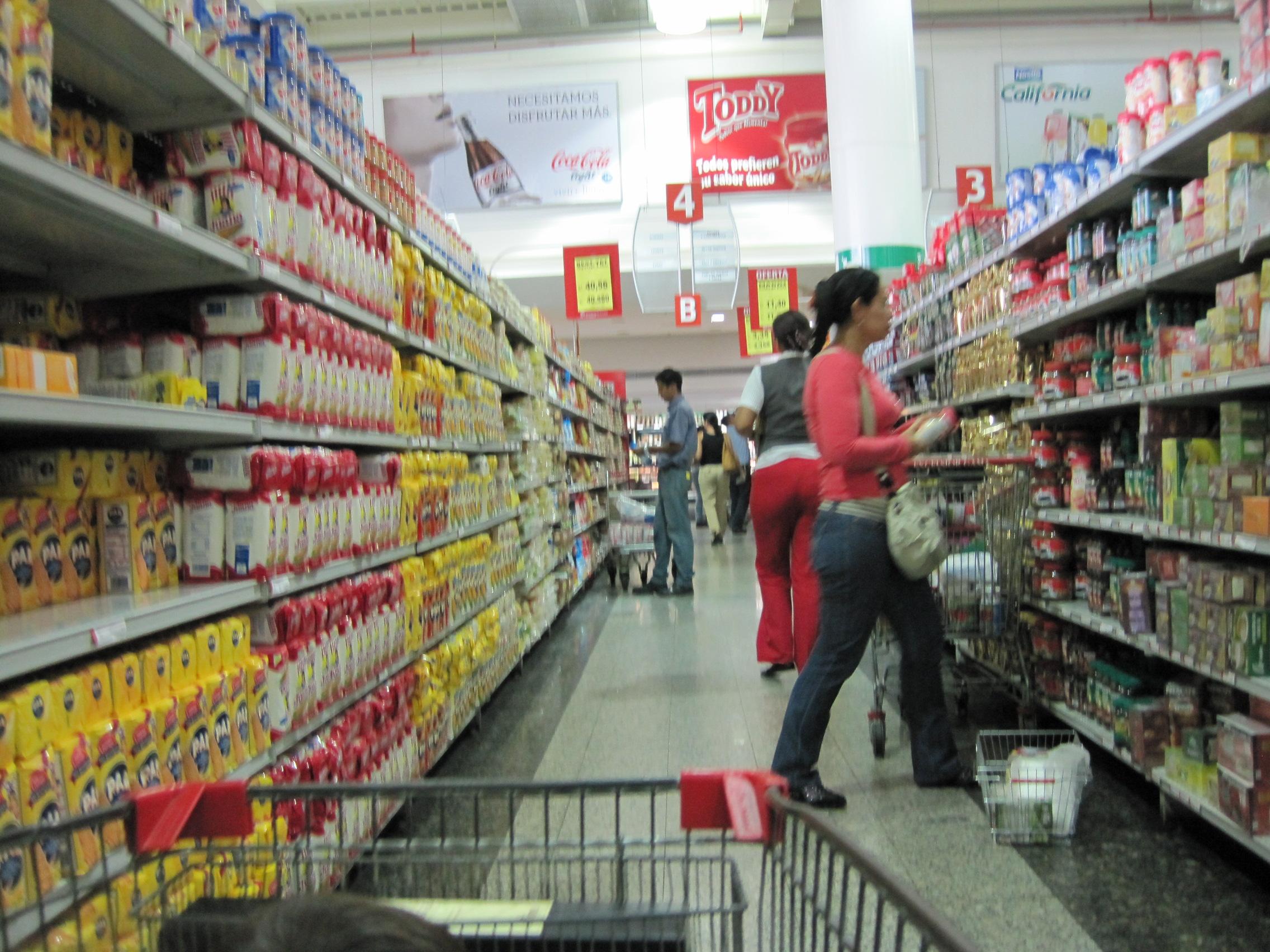 Supermercado, Caracas, 2010